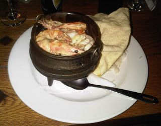 Another firm favourite - Seafood potjie