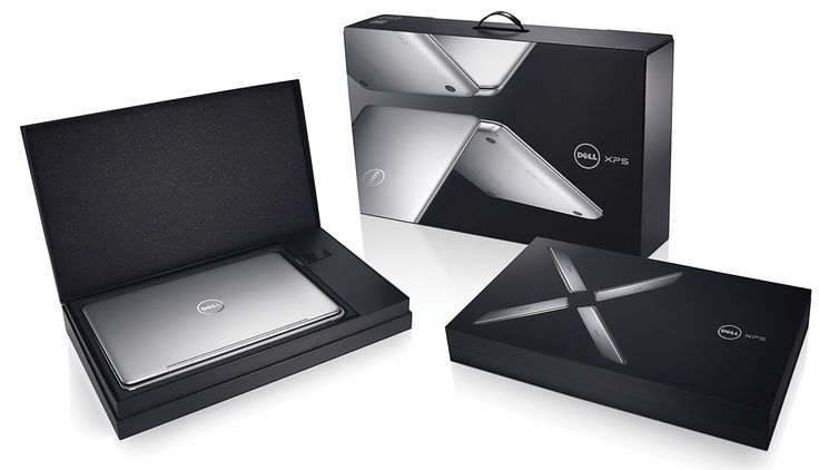 Dell laptop packaging