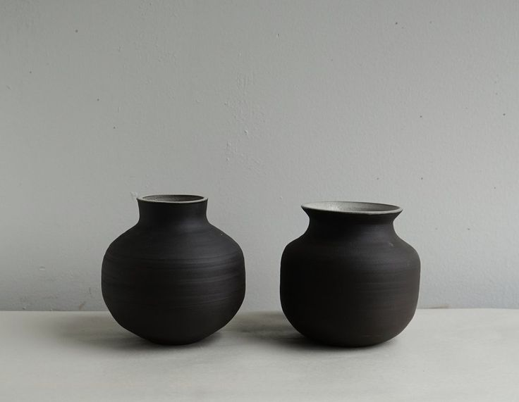 Black Stoneware Vases Stoneware Vase Vase Stoneware
