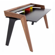 A very modern desk