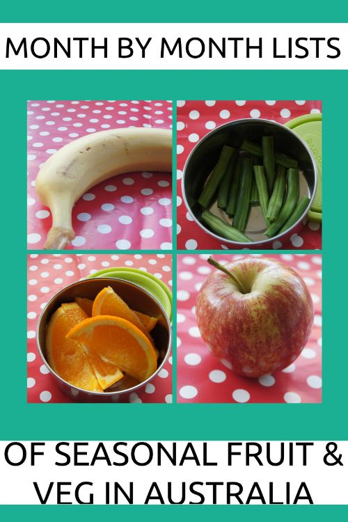 Planning With Kids - seasonal fruit and veg in australia, but also includes North America & the UK too.