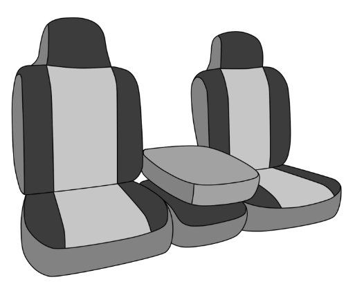 CalTrend Front Row 40/20/40 Split Bench Custom Fit Seat Cover for Select Dodge Models - NeoSupreme (Red Insert and Black Trim) - https://musclecarheaven.net/?product=caltrend-front-row-402040-split-bench-custom-fit-seat-cover-for-select-dodge-models-neosupreme-red-insert-and-black-trim