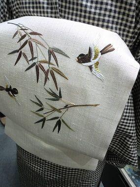 Beautiful Japanese embroidery, 日本刺繍, 草乃しずか