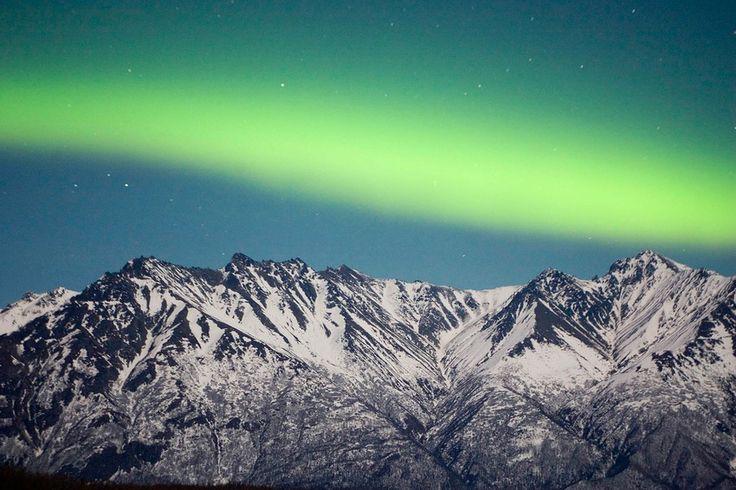 Aurora Borealis, Palmer, Alaska | www.eklectica.in