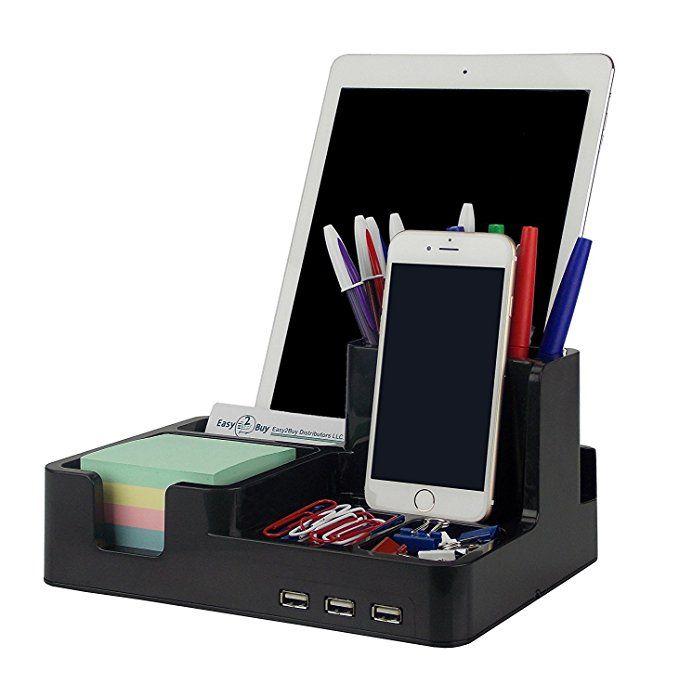 Smart Desk Organizer Black Color Smart Desk Desk Organization