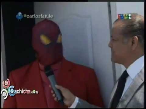 El Hombre Araña Retirado En RD #Video #Humor @carlosfatule @FelipePBoruga - Cachicha.com