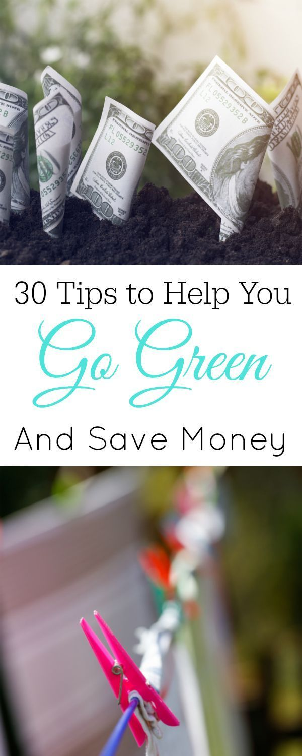 Frugal Green Living Tips, Save money and go green #frugal #ecofriendly