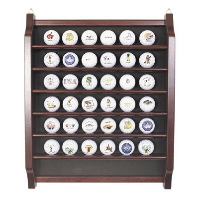 36 Golf Ball Display   GreatGolfMemories.com
