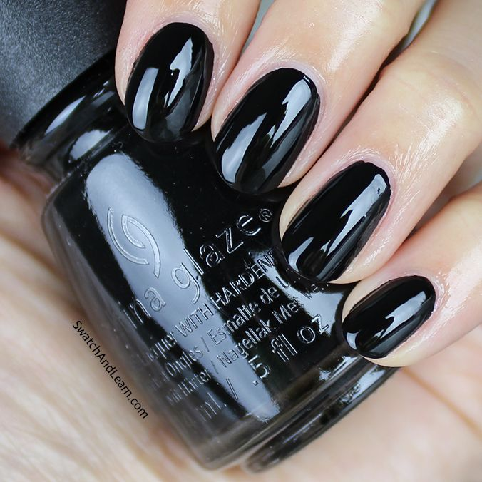 25+ Best Ideas About Black Nail Polish On Pinterest