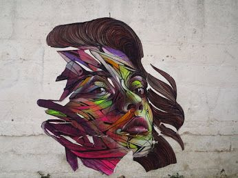 Street Art by Hopare in Italy.