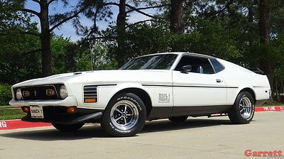 eBay: 1971 Ford Mustang Fastback 1971 Ford Mustang Mach 1 Fastback 351 Supercharged Custom Muscle Car - 4K VIDEO #fordmustang #ford