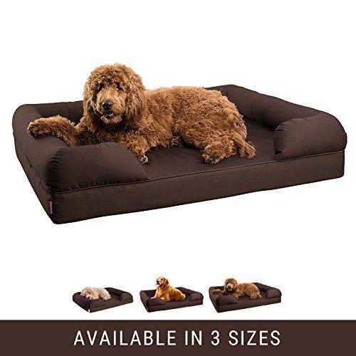 Petlo Orthopedic Pet Sofa Bed Dog Cat Or Puppy Memory