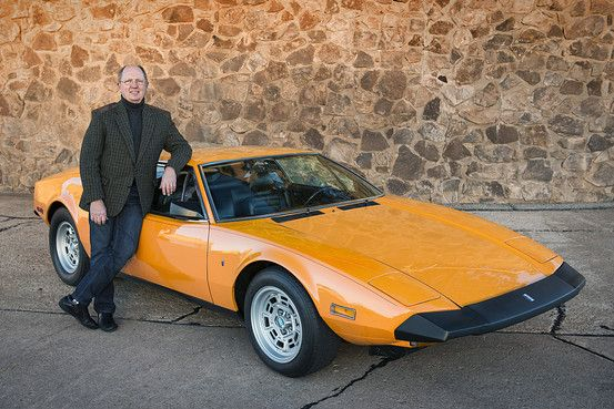 Roger Morrison of Salina, Kan., has owned his 1974 De Tomaso Pantera for nearly 40 years. It has Italian styling, but with a Ford V8..