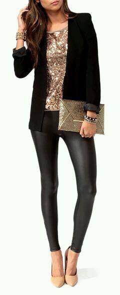 En esta ocasion te quiero compartir unas ideas de como te puedes vestir para ir al antro o de fiesta, todas las opciones son con lentejuelas espero te gusten.