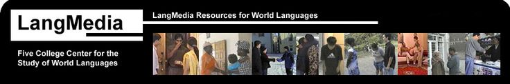 Five College center for the Study of World Languages Logo -- Possibly use for listening exercises? Has videos and transcripts. Super culture!