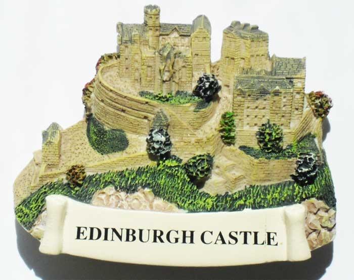 Magnet / Магнит. Шотландия: Эдинбургский замок
