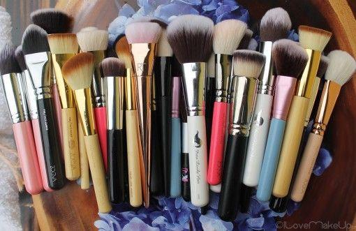 Všechny moje kosmetické štětce, které jsou ty nej? #Fun #Hakuro #makeup #Ostatní #PetraLovelyHair #Real Techniques #Sigma #štětce #Tipy #Zoeva