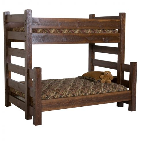Ms Twin Over Twin Wood Bunk Beds