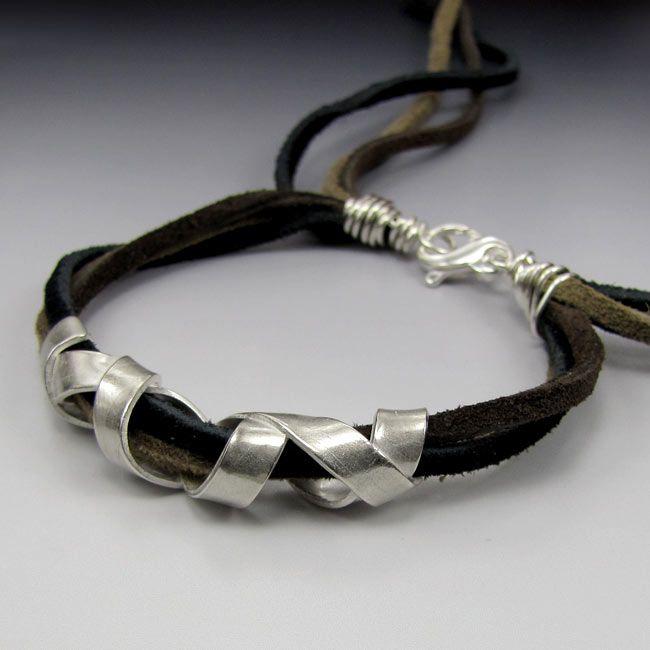 Laura Bracken Designs Blog: Metal Clay Kiln Conniptions and New Jewelry Including Unisex Boho Bracelet