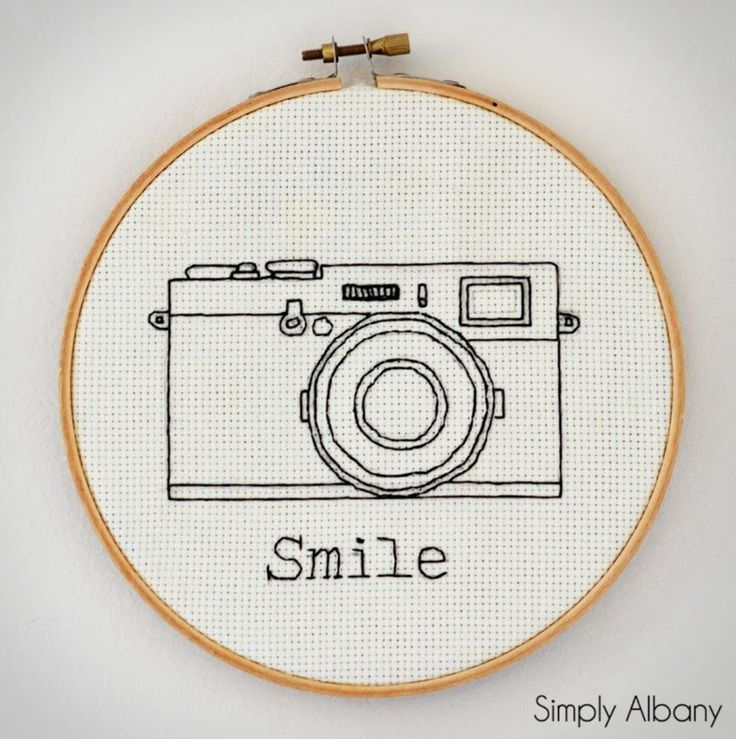 Embroidery Hoop Art - Delineate Your Dwelling feature