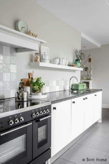 Achterwand Keuken Over Tegels : van glanzend grof gebakken tegels vt wonen tegelcollectie # tegels