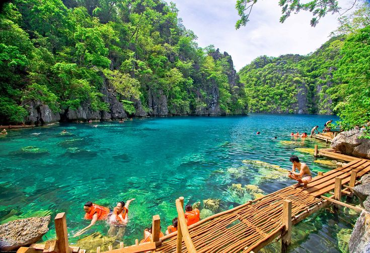 Kayangan Lake - Philliphines: Kayangan Lakes, Buckets Lists, Palawan Philippines, Wonder Places, Beautiful Places, Places I D, Blue Lagoon, Islands, Travel