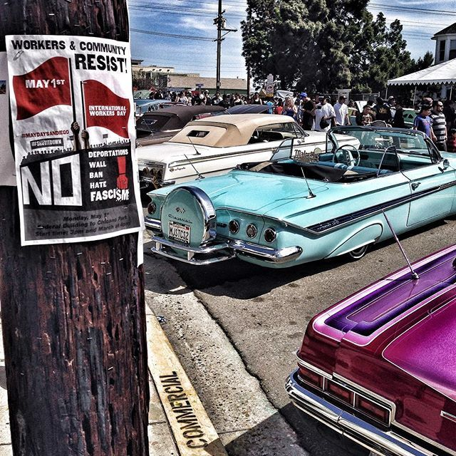 Cultural | Revolution #chicanopark #sandiego #lowrider #nowall #workersunite #sandiego #sandiegoconnection #sdlocals #sandiegolocals - posted by Justin Pearson https://www.instagram.com/justinpearson31g. See more post on San Diego at http://sdconnection.com