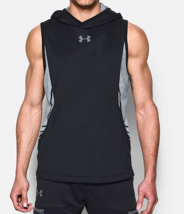 Shop Under Armour for Men's UA Select Sleeveless Hoodie in our Mens Tops department.  Free shipping is available in US.