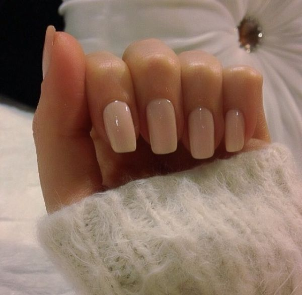 I'm obsessed with this nail Color: Mimosas for Mr. and Mrs. by OPI - for perfect neutral nails