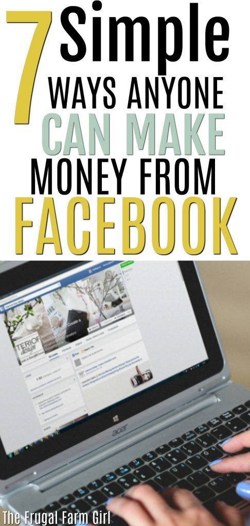 Are you ready to bring in some extra cash? Make money from home using Facebook. It's easier then you think and you can start doing it immediately.  #howto #tips #makemoney #workfromhome #inspiration #savemoney via @tasiaboland