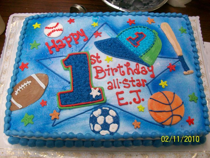 Best  Sports Birthday Cakes Ideas On Pinterest Sport Cakes - All star birthday cake