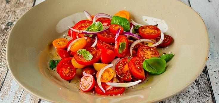 Bilde av tomatsalat