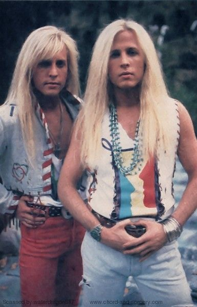Matthew and Gunnar Nelson, circa 1991; provenance unknown