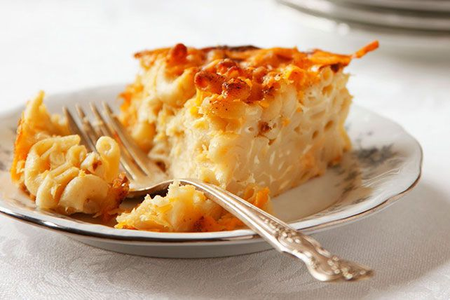 This Macaroni and Cheese Pie recipe is perfect for entertaining.  It slices like a pie and pairs well with a crisp green salad for a deliciously satisfying lunch.  Your guests will be nothing but impressed!