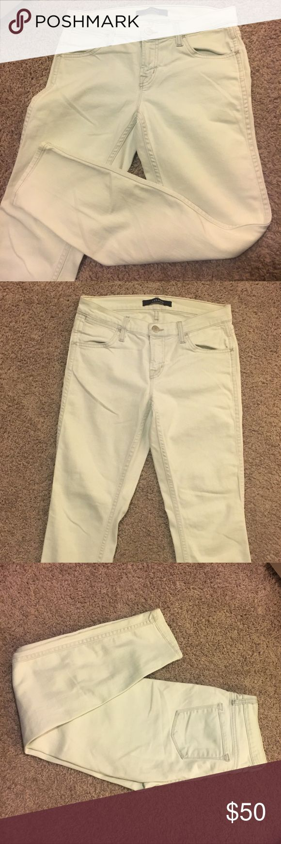 Mint skinny capri jeans J. Brand Mint capri jeans. Gently worn. Great condition. J. Brand Jeans Ankle & Cropped
