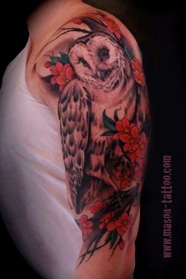 25 best ideas about owl tattoo sleeves on pinterest owl tattoos owl tat and owl skull tattoos. Black Bedroom Furniture Sets. Home Design Ideas