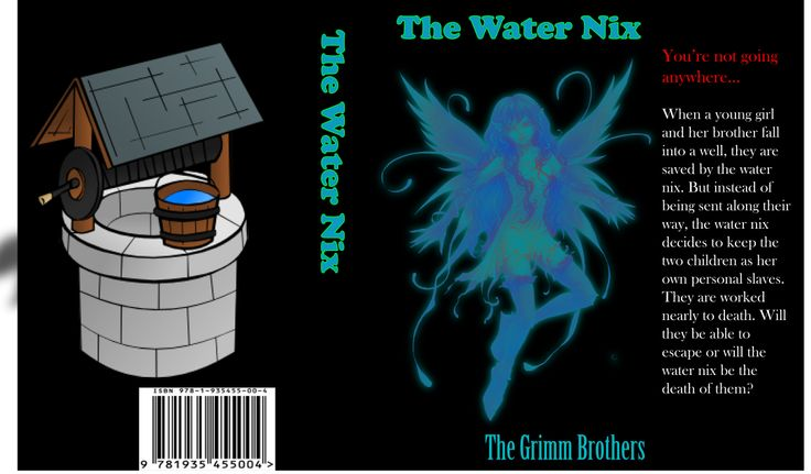 The Water Nix book cover (Grimm Brother's original tales)