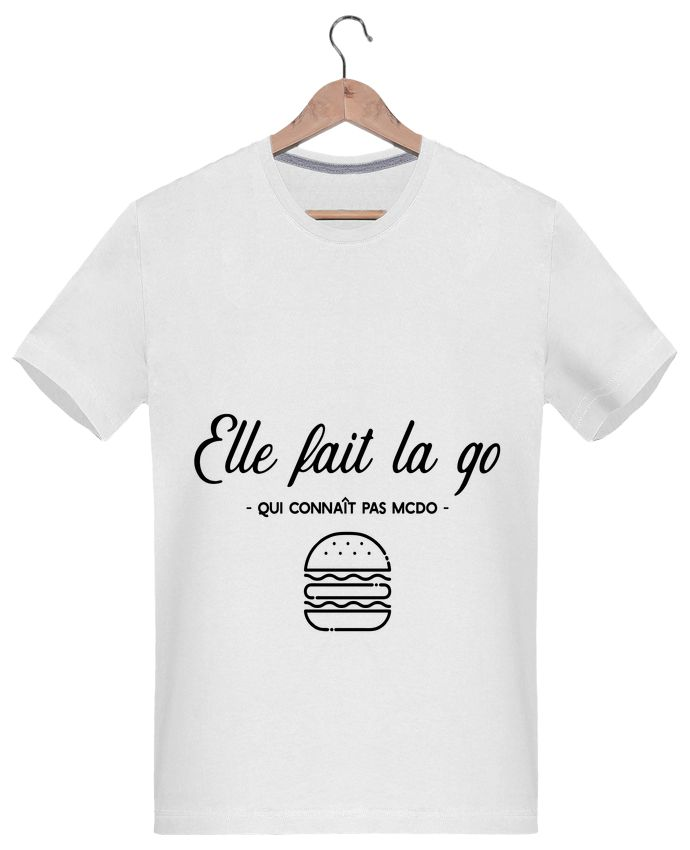 "T-Shirt Homme ""Elle fait la go"" - Original t-shirt - Tunetoo #tshirthumour #tshirtfashion #tshirtdesign #humour #lol #mdr #fashion #style #statement"