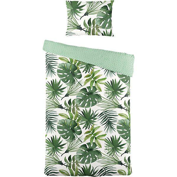 wende bettw sche botanic renforce 135x200 80x80 cm. Black Bedroom Furniture Sets. Home Design Ideas