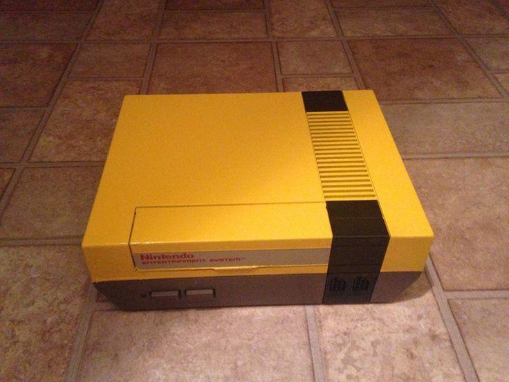 Yellow Tastic Bumble Bee Unlocked NES console Made by Retro Refabricators