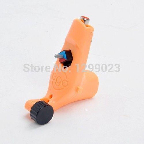 Хиты 2014 продажа новые маленькая эго ротари татуировки пулеметы оранжевый цвет шейдеров лайнер для комплект поставки бесплатная доставка