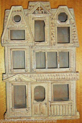 Haunted House Shaped Shelf Victorian Display Shadow Box ...