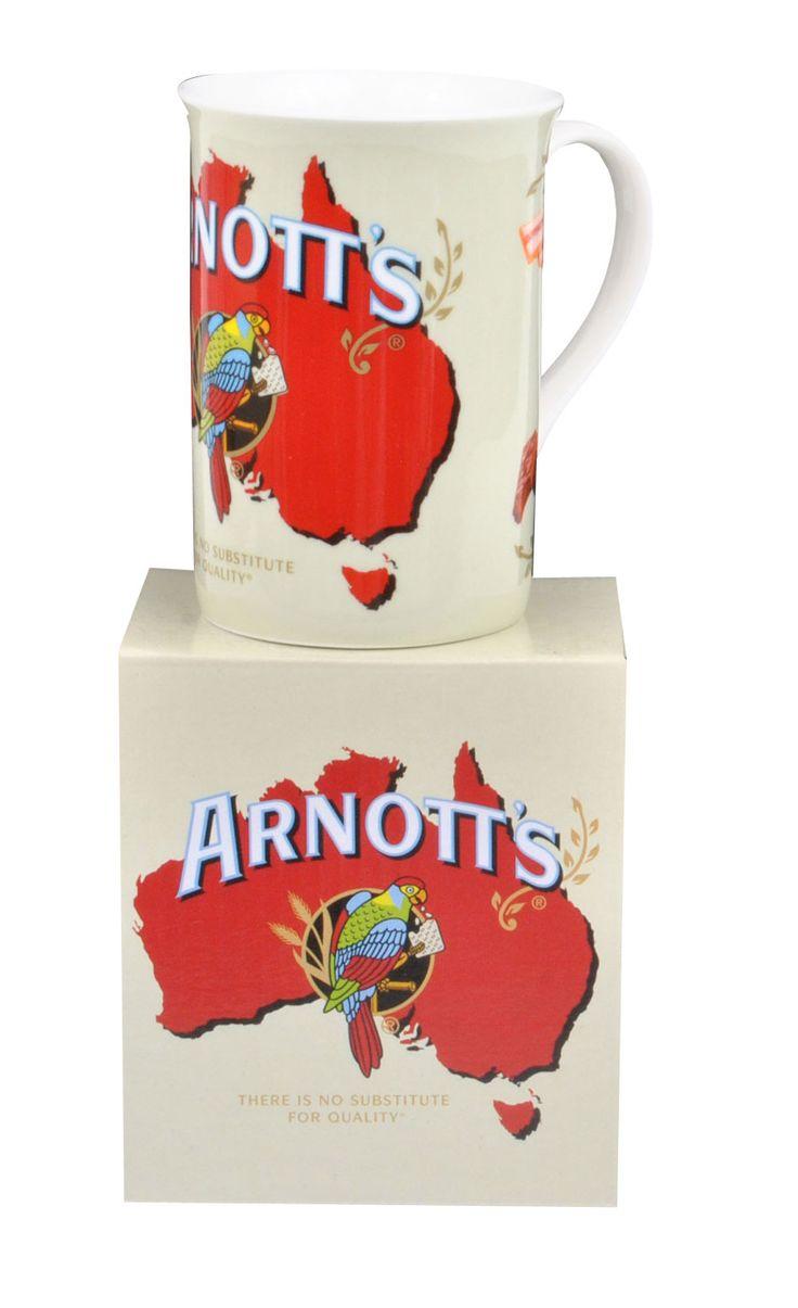 Arnotts Classic Icons Parrot Fine Bone China Tea Coffee Mug Bone China Tea Fine Bone China