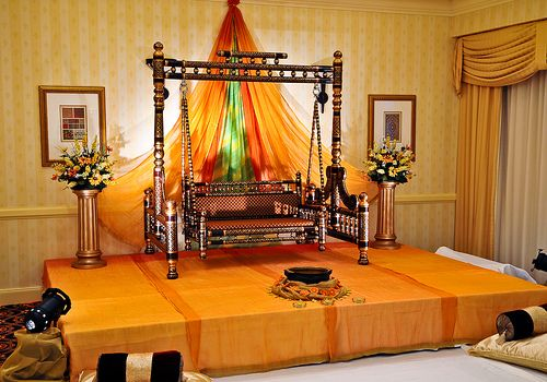Mehndi Stage Decoration Simple : Stage design gaye holud mehndi pinterest