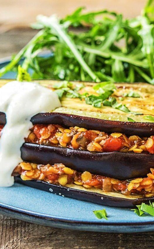 Die besten 25+ Vegetarisches moussaka Ideen auf Pinterest