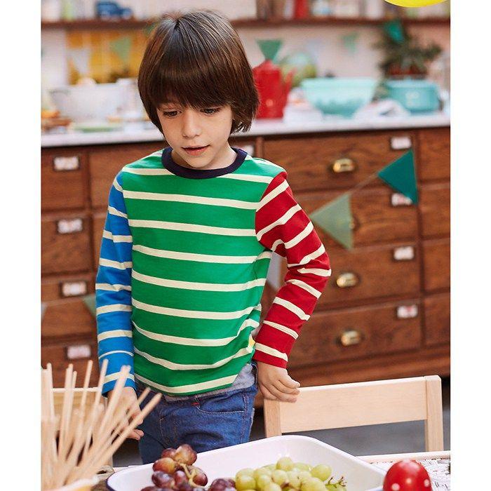 Mothercare Little Bird by Jools Multi Stripe T-Shirt