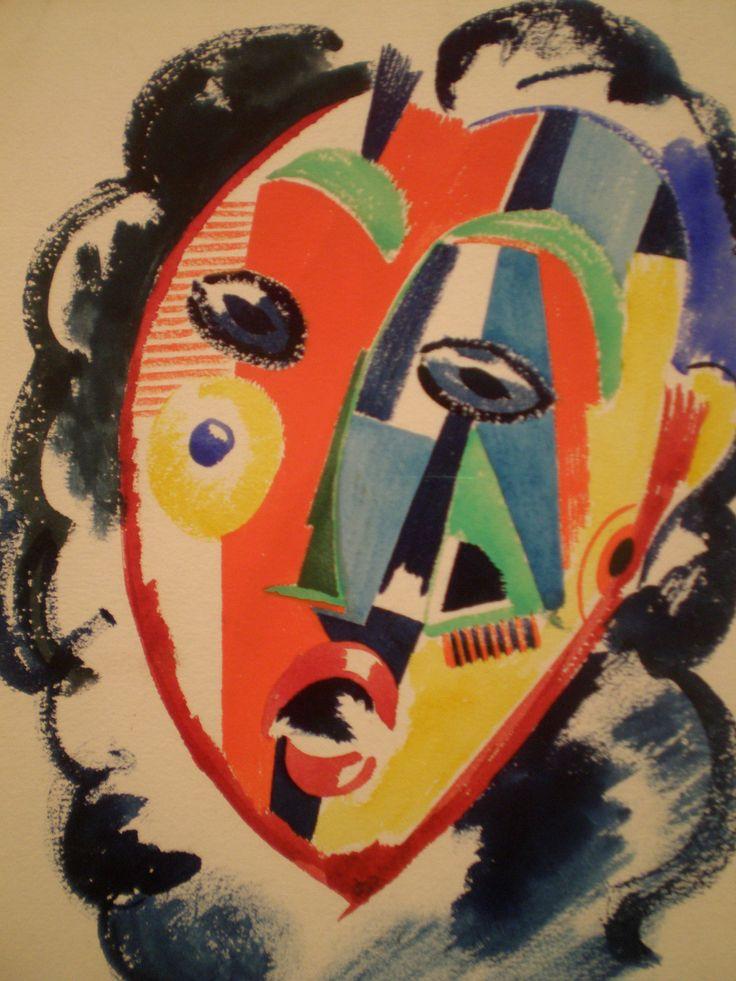 'Untitled', c. 1915 // by Amadeo de Souza-Cardoso, Center of Modern Art, Calouste Gulbenkian Museum, Lisbon