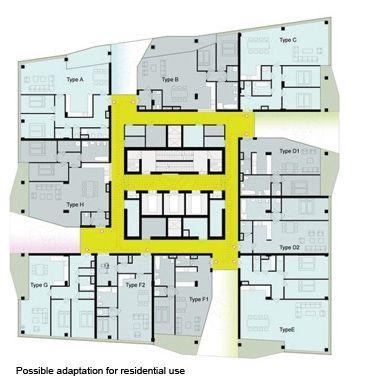pinwheel RESIDENTIAL-PLAN_UNStudio