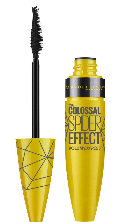 Maybelline The Colossal Spider Effect Volum Express 9,5ml Black. Κολοσσιαίος τολμηρός όγκος, χαρίζει πανέμορφο look που τραβά όλα τα βλέμματα! Αποκτήστε την από το aromania.gr μόνο με 9,00€! #aromania #Maybelline #MaybellineMascara #TheColossalSpiderEffect