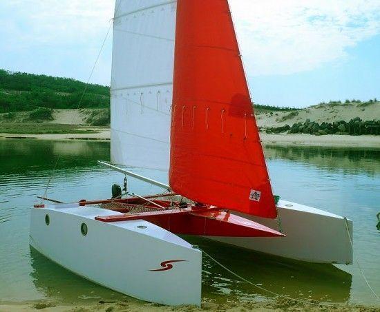 Micromegas 5 catamaran #BoatbuildingShops | Boatbuilding Shops | Pinterest | Aluminum jon boats ...